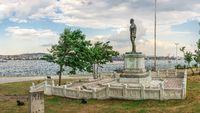 Ataturk Monument in Istanbul, Turkey