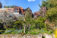 Schlossblick Quedlinburg