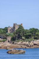 Insel und das Schloss Costaérès