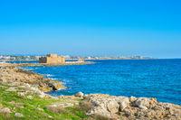 Paphos Harbour Castle. Paphos, Cyprus