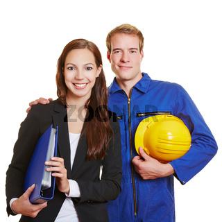 Glückliches Business-Team