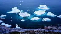 Greenland Ilulissat color glaciers sea ocean fjord