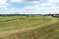 Landschaft in der Elbtalaue im Wendland, Niedersachsen
