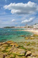 Lloret de Mar,Costa Brava,Katalonien,Mittelmeer,Spanien