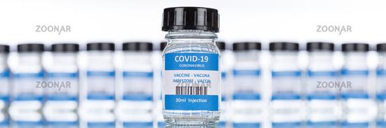 Impfstoff Coronavirus Corona Virus COVID-19 Covid Impfung Vaccine Panorama