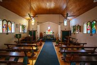 Kuranda Township Church in Queensland Australia