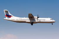 Sky Express ATR 72-500 Flugzeug Flughafen Athen in Griechenland