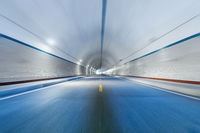 motion blur in tunnel