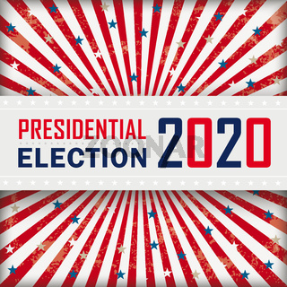 4Vintage Sun Presidential Election Banner