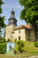Dorfkirche Vehlefanz, Landkreis Oberhavel, Brandenburg, Deutschland