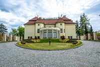 PRAGUE, CZECH REPUBLIC, APRIL 2020 - The Kramar's Villa is the official residence of the Prime Minister of the Czech Republic