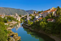 Old Bridge in Mostar - Bosnia and Herzegovina