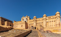 Amber Fort in Amer district of Jaipur, India