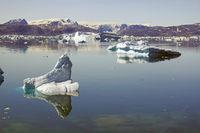 Eisfjord in Ostgrönland