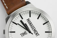 Watch with the text Time Management