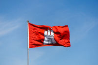 Hamburg Flagge