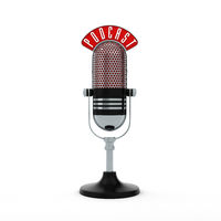 Microphone Podcast White