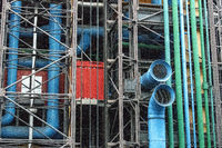Love at second sight: Pompidou Centre,  the first major example of an 'inside-out' building in architectural history,