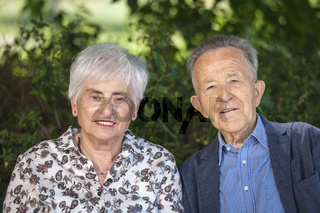 Wonderful couple of pensioners