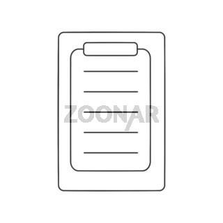 Clipboard Icon Vector