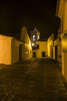 Monsaraz bei Nacht, Alentejo, Portugal