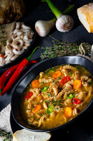 Flaczki - tripe soup the Polish way
