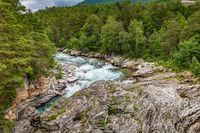 River Driva, Oppdal, Trondelag in Norway