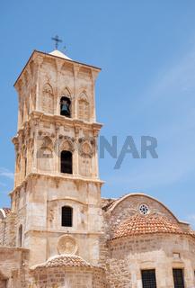 The belfry of the Church of Saint Lazarus. Larnaca. Cyprus