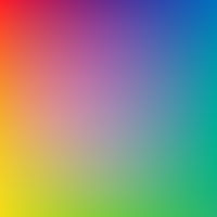Colorful Bright Background With Blur