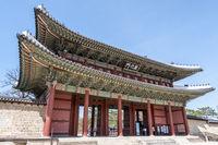 changdeok gung palace main entrance