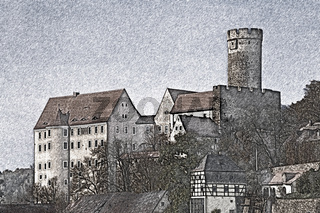 Burg Gnandstein, Sachsen | Gnandstein castle, Saxony