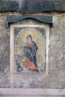 Marienbild an einer Kirche in Fulda