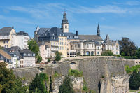 Luxembourg city, the capital of Grand Duchy of Luxembourg