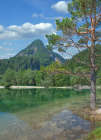 Lake Jasna in Triglav National Park,Slovenia