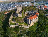 Medieval Castle in Leiria Portugal