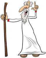 prophet or sage comic character cartoon illustration