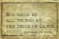 price of labor DaVinci