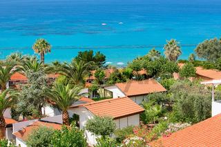 Coast near the town of Capo Vaticano region Calabria - Italy