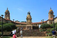 Union Buildings, Regierungssitz in Pretoria, Südafrika, Afrika,