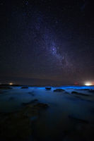 Oceans of glowing Bioluninescence in Australia