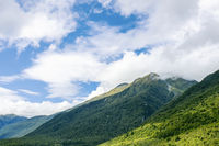 mountain scenery at south island New Zealand