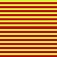 stripes in the colours red and yellow