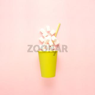 Sugar cup.