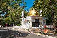 Moschee bei Kilometer Null auf der Insel Weh, Sabang in Indonesien