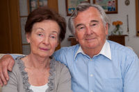 Portrait Seniorenpaar