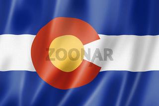 Colorado flag, USA