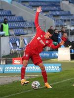 Leon Dajaku  FC Bayern München II DFB 3.Liga Saison 2020-21