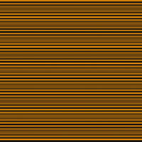 Horizontal stripes in orange and black