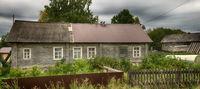 Old wooden house in the Arkhangelsk region
