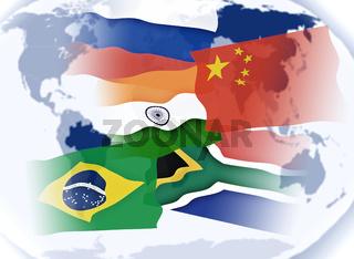 Illustration BRICS Staten